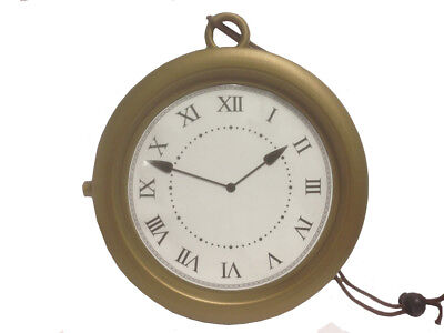 Gold Clock Necklace Flavor Flav 8