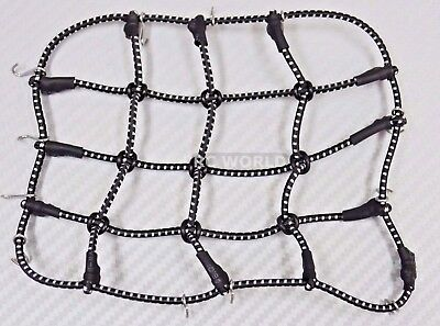 RC Truck Scale ROOF Accessories BUNGEE CORD NET Cargo Net  For Roof Rack BLACK for sale  Shipping to Nigeria