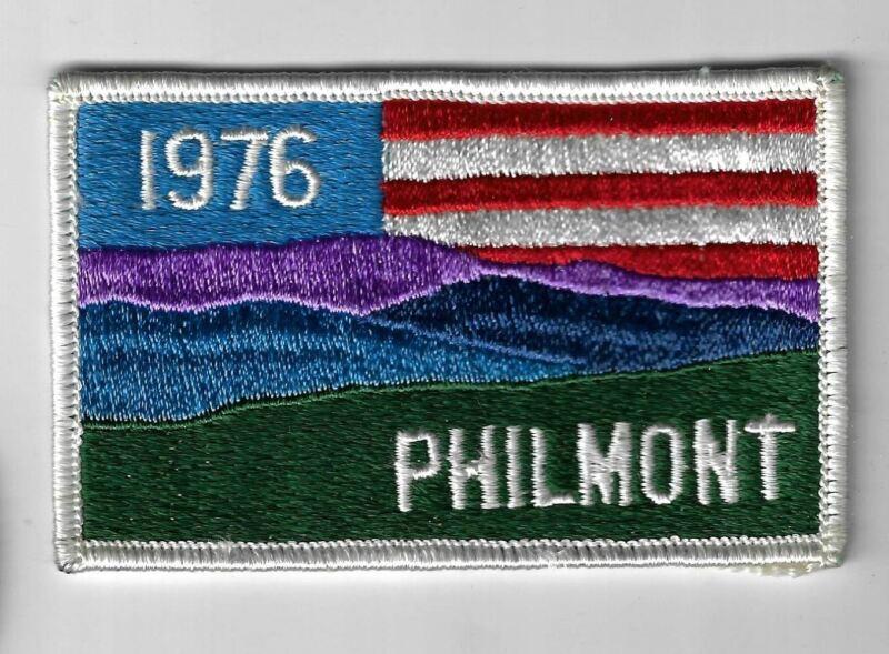 1976 Philmont WHITE Border [MX-5038]