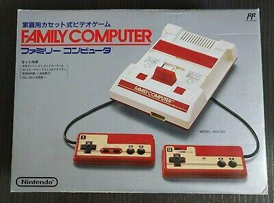 Very Rare Nintendo Family Computer Famicom Original Game Console 1983 Japan