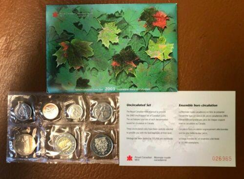 2003 Canada Mint Set