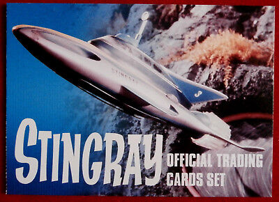 STINGRAY - HEADER CARD - Card #01 - Unstoppable 2017 - Gerry Anderson Collection