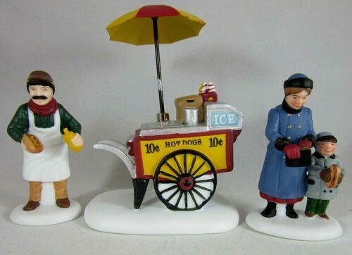 Dept 56 Heritage Village Collection - Hot Dog Vendor with Cart, Customer #5886-6