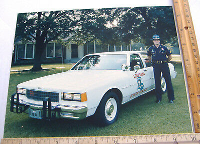 ~LOUISIANA STATE POLICE~8 X10 COLOR PHOTO~