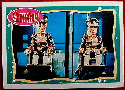 STINGRAY - Card #05 - Going Down! - issued by Topps, 1993