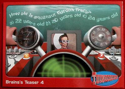 THUNDERBIRDS - Brains's Teaser 4 - Card #68 - Cards Inc 2001 - Gerry Anderson