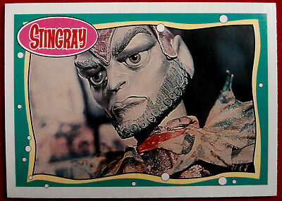 STINGRAY - Card #07 - Titan - issued by Topps, 1993