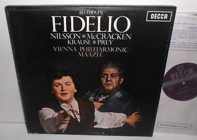 SET 272/3 Beethoven Fidelio Nilsson McCracken Krause Prey Vienna Phil Maazel WBG