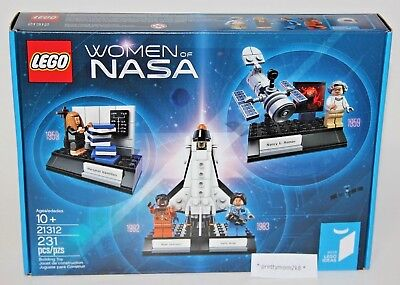 Lego Ideas Women Of Nasa   21312   231 Pieces  Brand New In Box     In Hand