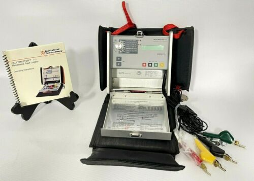 ✅ Industrial Tech FAULTMASTER 111, Resistance Fault Locater RFL - New Old Stock!