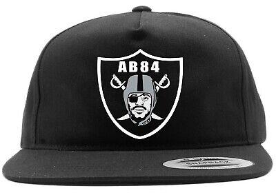 Black Antonio Brown Oakland Raiders FACE LOGO Snapback Hat