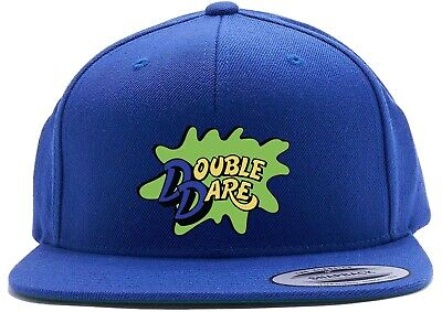 Blue Double Dare Costume Logo Snapback Hat - Double Dare Costume
