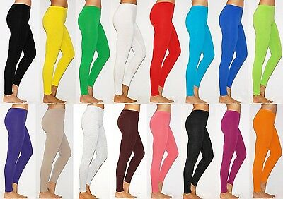 Womens Thick Pants Cotton Leggings Full Length Size S M L XL 2XL 3X 4XL 5XL