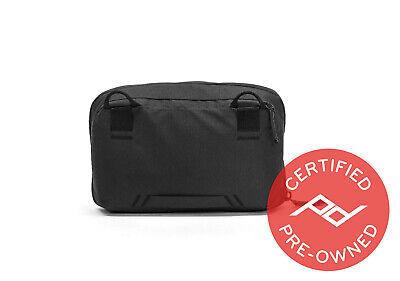 Peak Design Wash Pouch Black - PD Certified