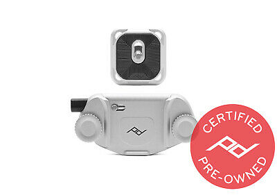 Peak Design Silver Capture V3 with Plate - PD Certified
