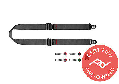 Peak Design Slide Lite Camera Strap V3 (Black) - PD Certified