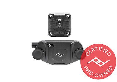 Peak Design Black Capture V3 with Plate (Lifetime Warranty) - PD Certified