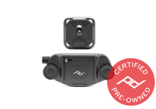 Peak Design Black Capture V3 with Plate - PD Certified