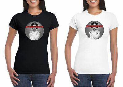 Fight Like A Girl Princess Leia Feminist T-shirt Star Wars Feminism White/Black