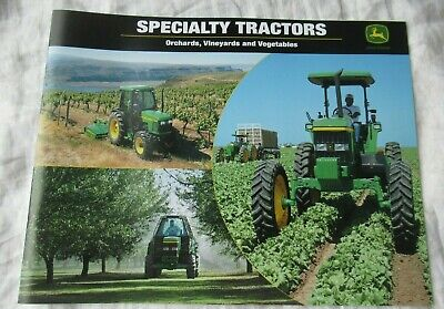 John Deere 5520 6410 7410 5520 6110 Orchard Vineyard Specialty Tractor Brochure