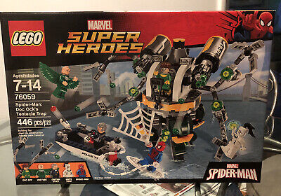 LEGO 76059 Marvel Super Heroes - Spider-Man: Doc Ock's Tentacle Trap NEW In Box!