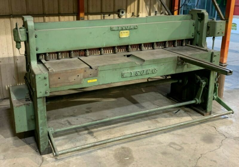"""Wysong 1472, Power Squaring Shears, 14 gauge, 72"""" LOCAL PICKUP"""