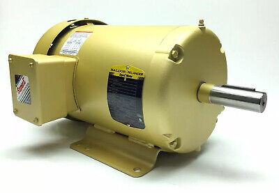 New Baldor Em3607t Electric Motor 3ph 1.5 Hp 230460v 4.82.4 Amps 1165 Rpm 182t