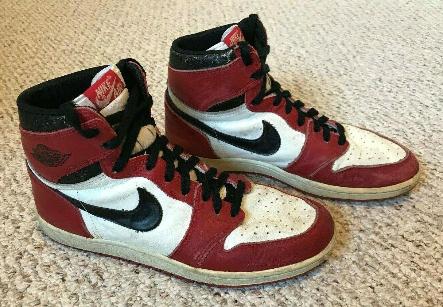 Original Nike Air Jordan 1 (1985) Sz 10.5