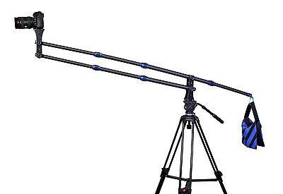 Pro Carbon Fiber Mini Jib Crane For DSLR Video Camera