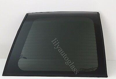 Fit 93-99 Yukon Suburban Tahoe Driver Left Back Glass Rear Window Heated OEM