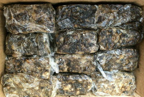 Raw African Black Soap PREMIUM QUALITY Organic Unrefined 100% Pure Natural Ghana