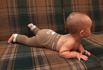 как выглядит Трусики под подгузники Personalized Diaper Cover MERINO WOOL baby name soaker longies leggings knitted фото