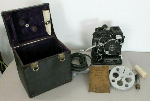 Antique Kodak Kodascope Model B 16mm projector in original box - working