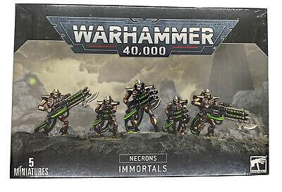 Necron Immortals/Deathmarks - Warhammer 40K Necrons NEW! 5x Miniatures