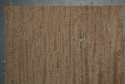 Wenge Raw Wood Veneer Sheets 7.5 X 32 Inches 142nd Thick   H7685-27