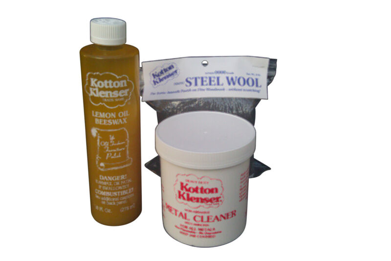 HEAVY DUTY KOTTON KLENSER  METAL CLEANING TARNISH REMOVAL KIT