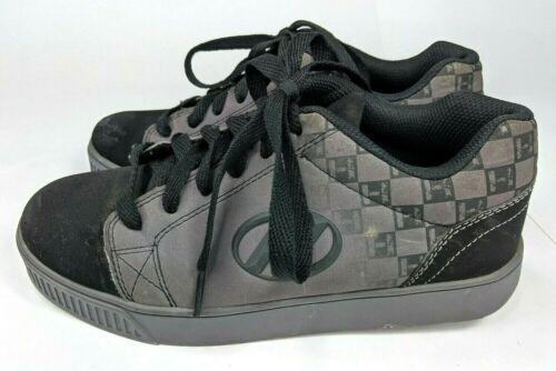 Heelys Vapor 7769 Black Wheeled Skate Shoes US Size Youth 6