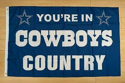 Dallas Cowboys 3x5 ft Flag NFL](Dallas Cowboys Flags)