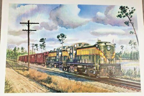 Seaboard Air line Railroad - RS3
