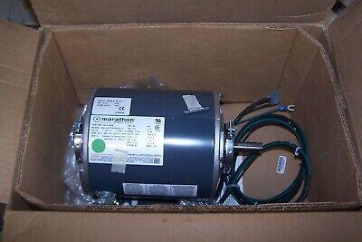 New Marathon 12 Hp Electric Ac Motor 460 Vac 1725 Rpm 56 Frame 3 Phase
