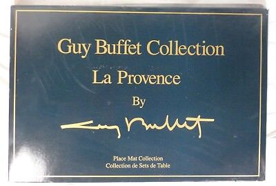 Guy Buffet Gathering La Provence Place Mats - Set of Six (6)