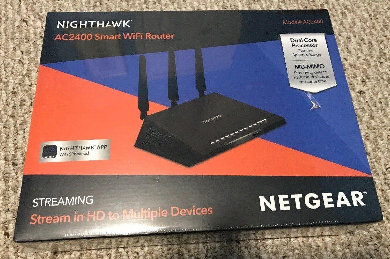 Nighthawk AC 2400 Smart WiFi Router