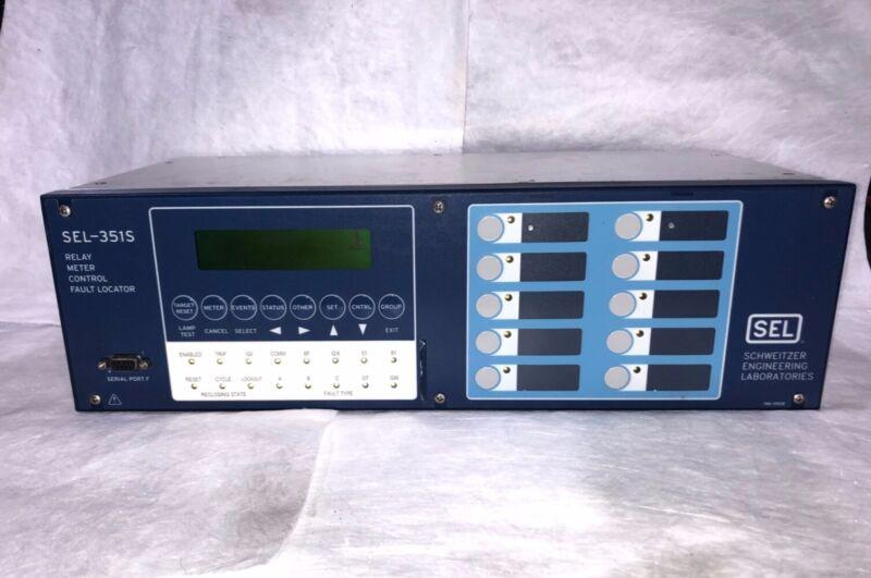 Schweitzer Engineering Lab (SEL) Relay Meter Control Fault Locator - SEL-351S -