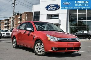 2008 Ford Focus SE SEDAN -LEATHER - BLUETOOTH - POWER MOONROOF