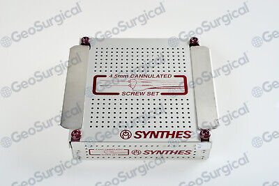 105.040 Synthes 4.5 Cannulated Screw Instrument And Implant Stainless Steel