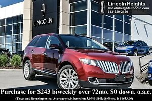 2014 Lincoln MKX AWD - LEATHER - BLUETOOTH - VOICE ACTIVATED NAV