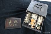 Bone Mahjong Set