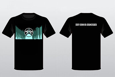 DEF CON is canceled MASKED FIGURE t-shirt