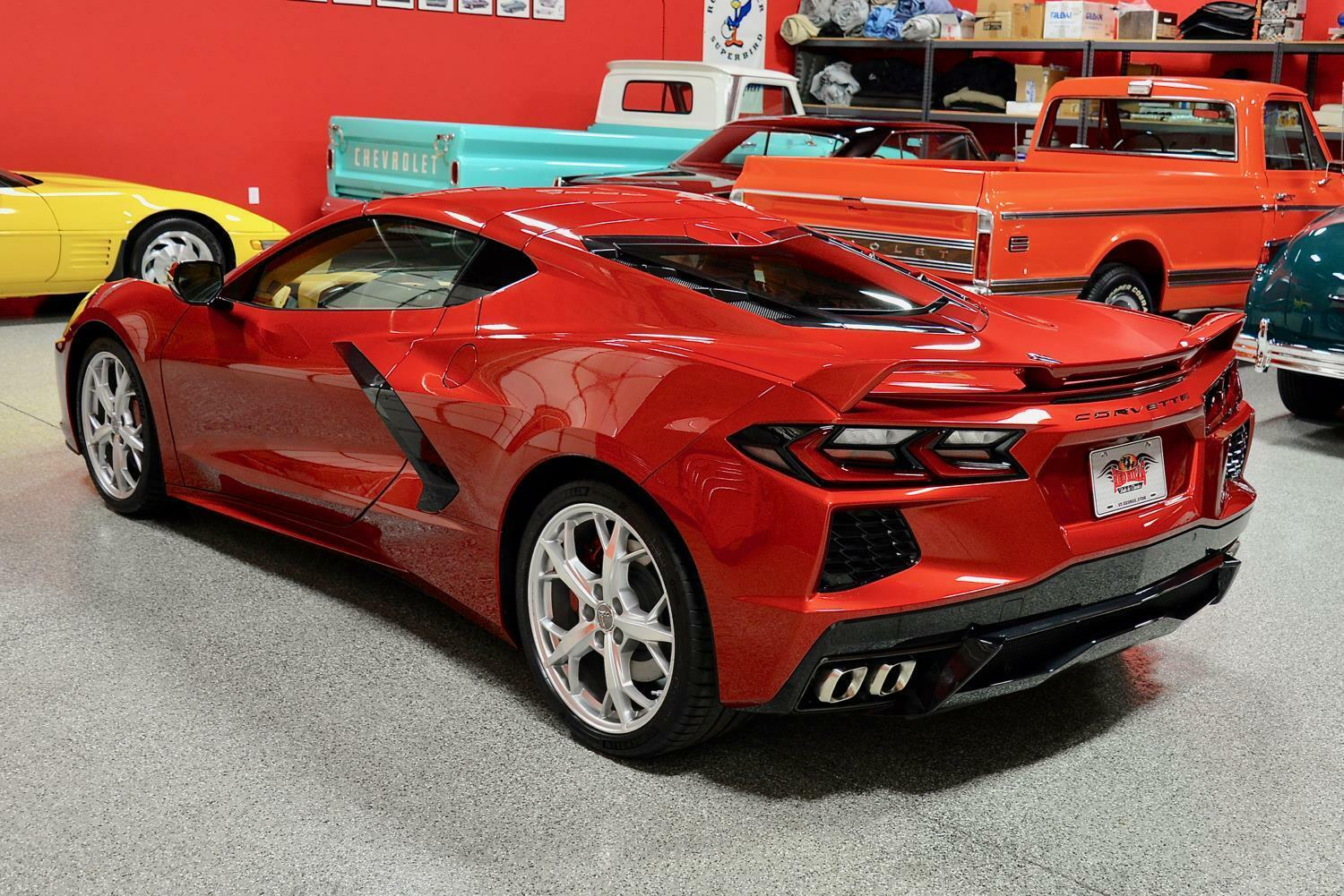2021 Red Chevrolet Corvette  3LT | C7 Corvette Photo 8