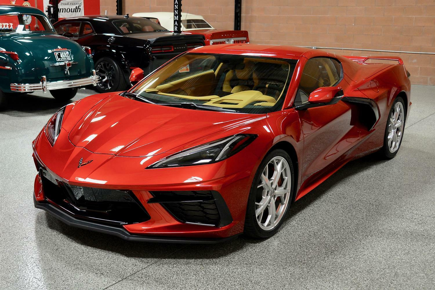 2021 Red Chevrolet Corvette  3LT | C7 Corvette Photo 3